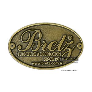 dokum etiket soft antik sarı bretz 5888
