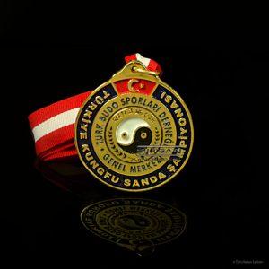 özel döküm madalya budo 7046