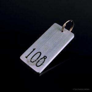 aluminyum otel oda anahtarligi bodrumville 7691