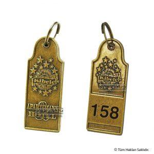 Döküm otel anahtarlığı kibele 6273