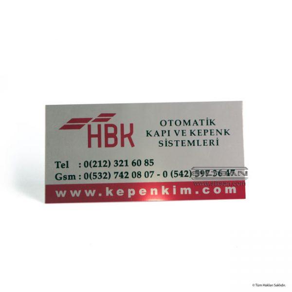 aluminyum mikron baski etiket