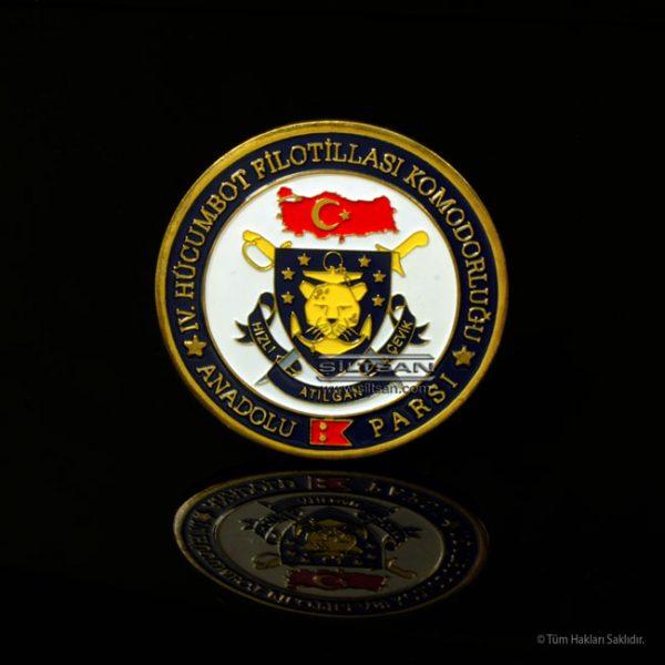 kulpsuz hatıra madalyası