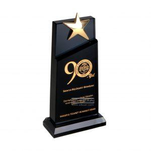 kristal ödül plaketi KP-03