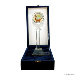 Kutulu Kristal El Ödül Plaketi KP-06