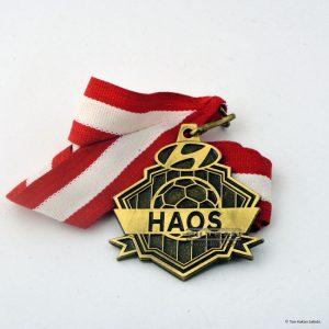 özel tasarım döküm madalya antik sarı